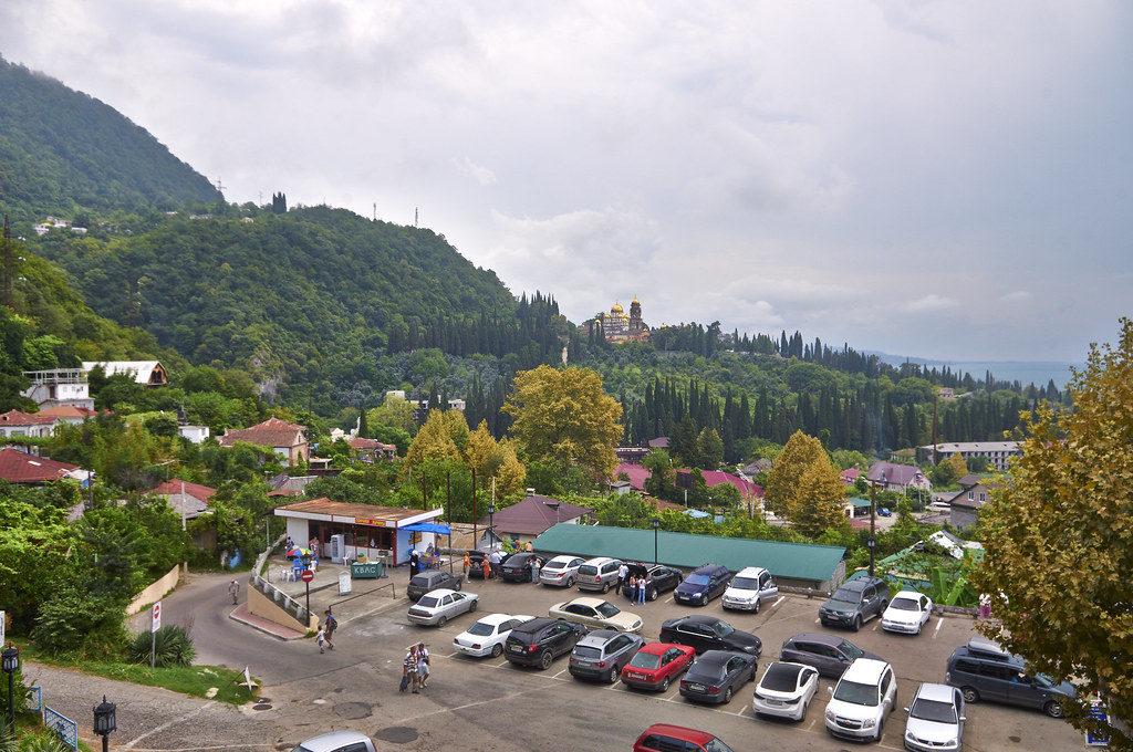 Панорама Абхазии