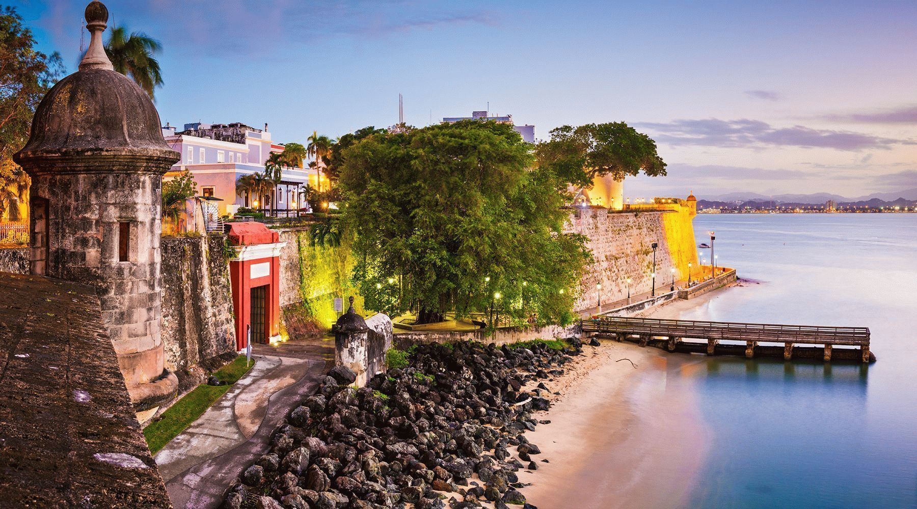 the island of puerto rico 2017-09-28 puerto rico is a large caribbean island of roughly 3,500 square miles located in the west indies it's the easternmost island of the greater antilles chain.