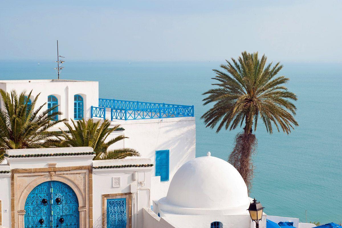 Сиди бу саид на карте туниса