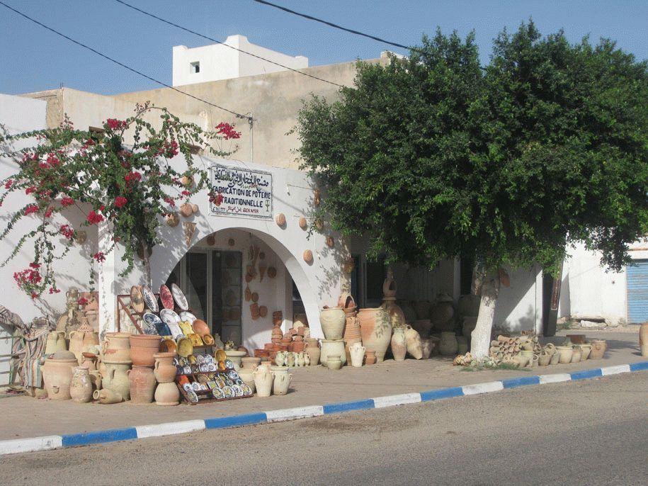 тунис остров джерба сентябрь 2019