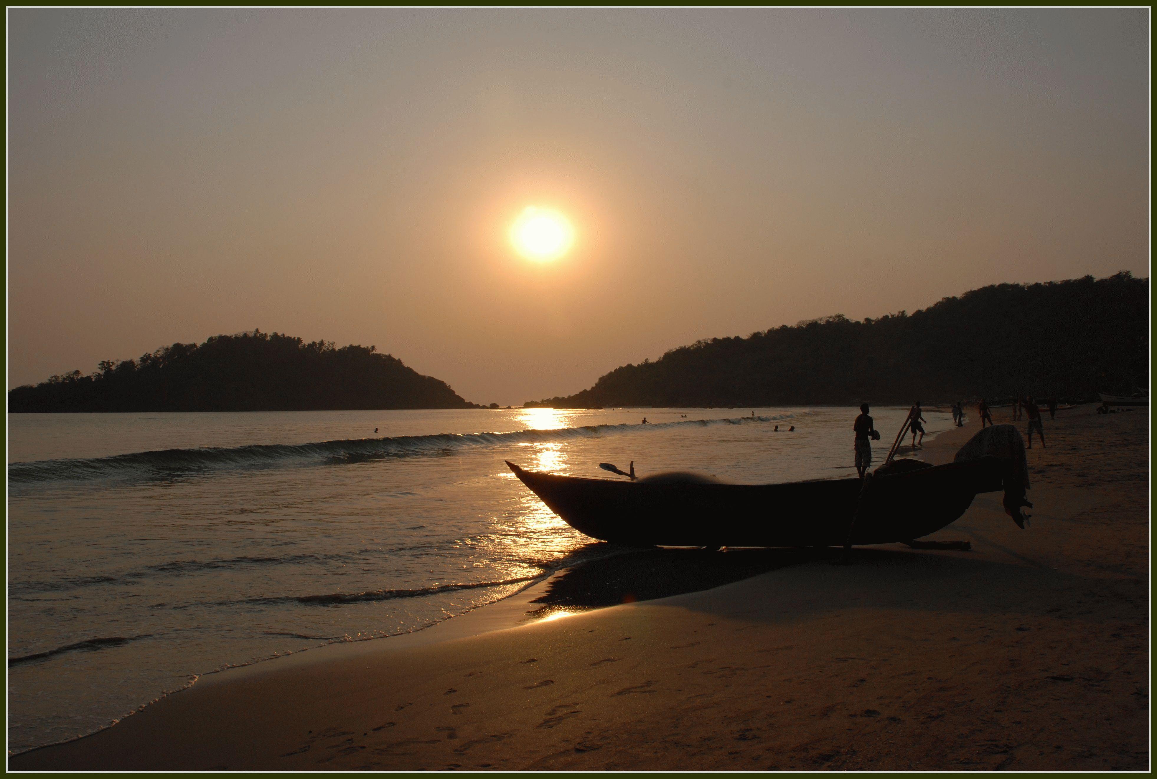 Пляжи Палолема (Palolem Beach), Гоа, Индия (15 фото видео)
