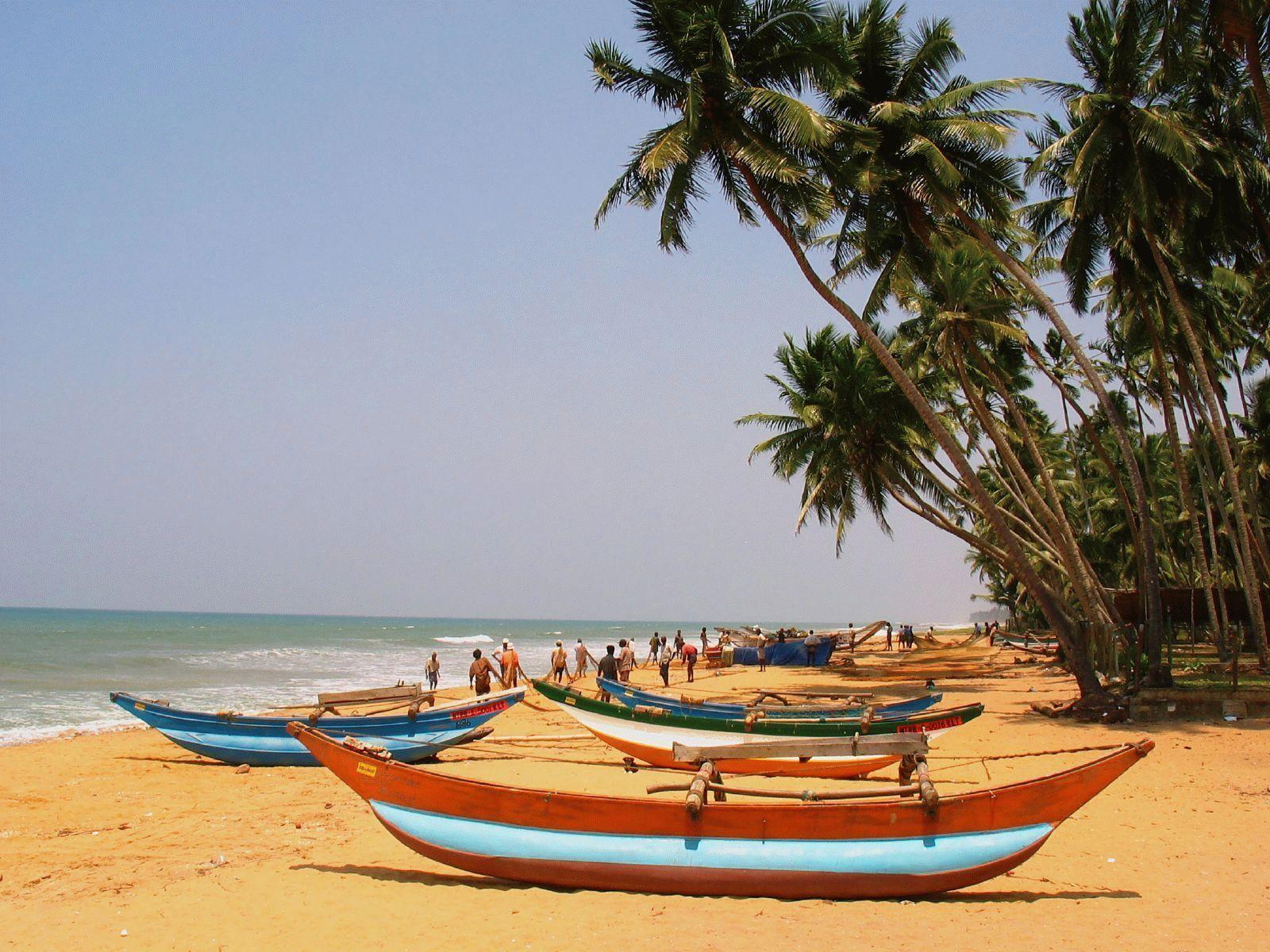 картинка фотография курорта Калутара на Шри-Ланке