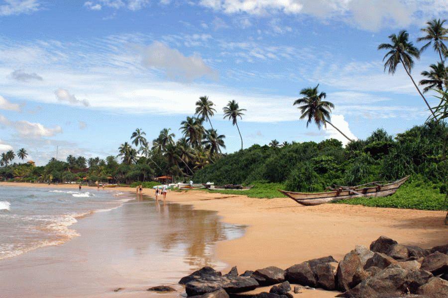 картинка фотография курорта Бентота на Шри-Ланке