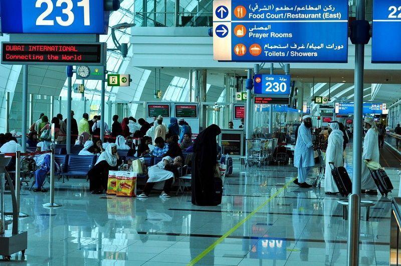 Аэропорт дубай онлайн табло вылета и прилета россия открытие границ с снг