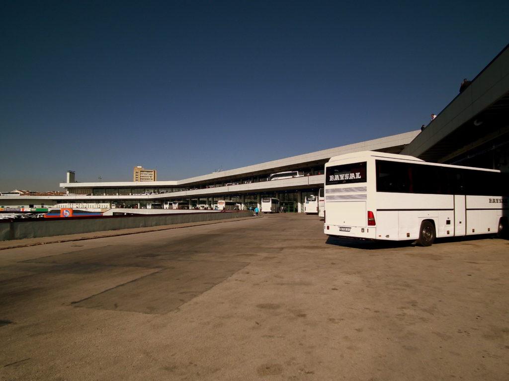Автовокзал в Турции
