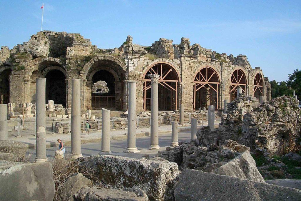 Руины Сиде