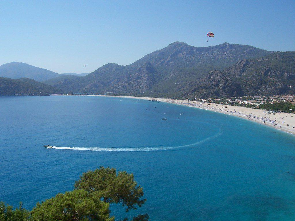Средиземное море в Фетхие