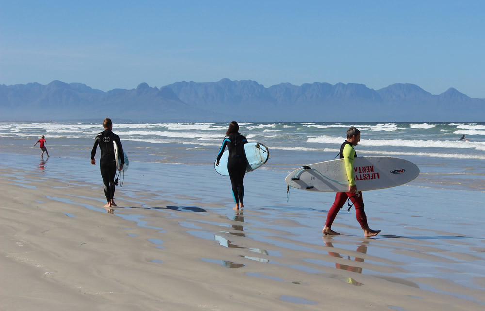 Серфинг в Кейптауне