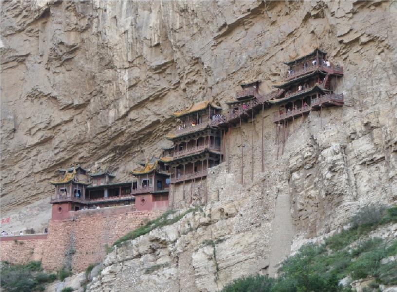 Висячие храмы