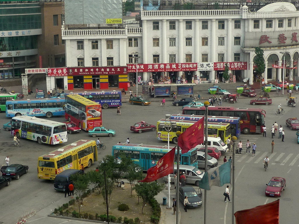 Транспорт в центре