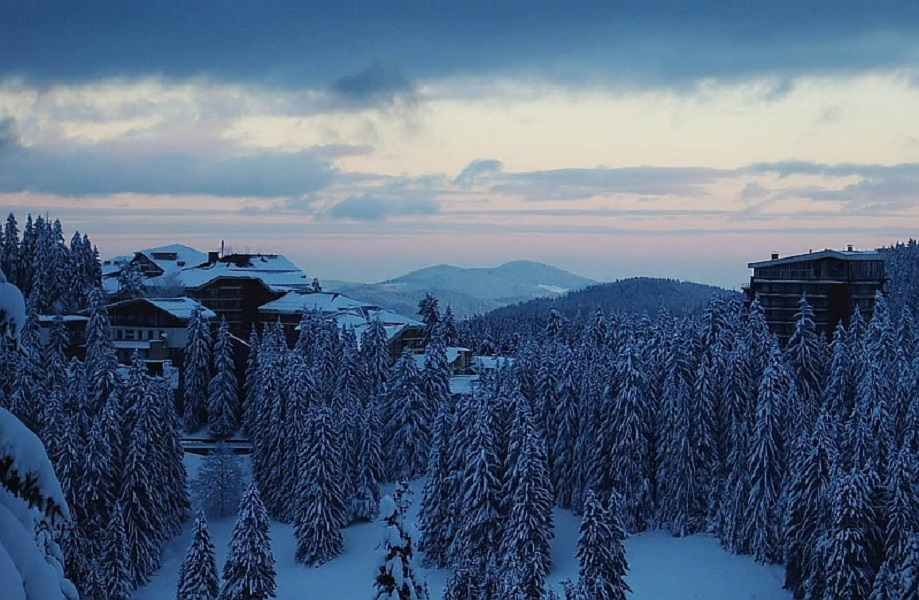 Панорама Родопских гор