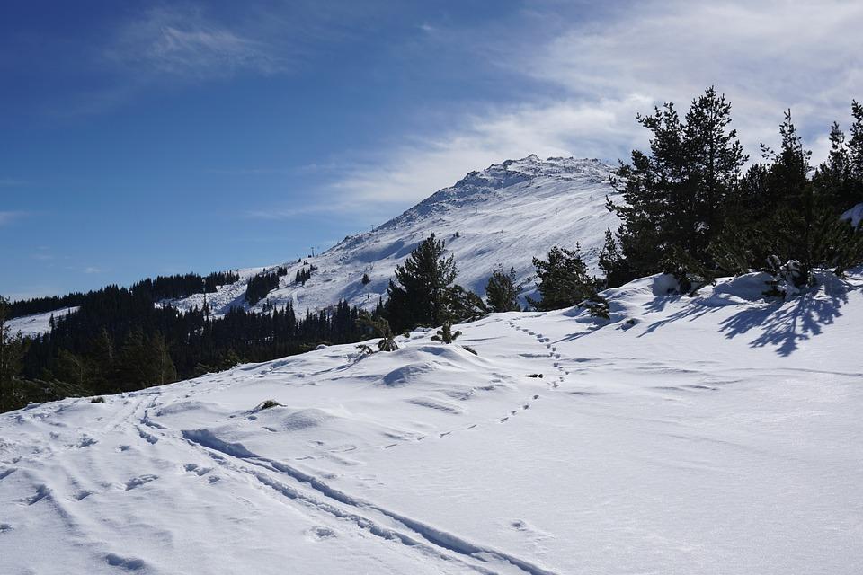Панорама горнолыжного курорта Витоша