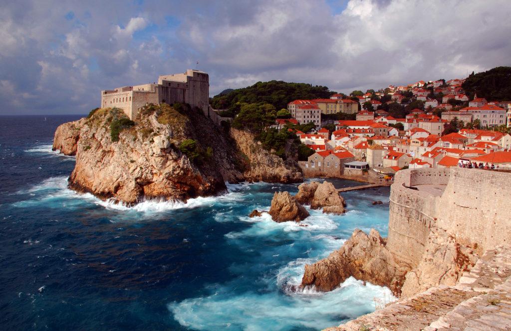 Скалистое побережье Дубровника