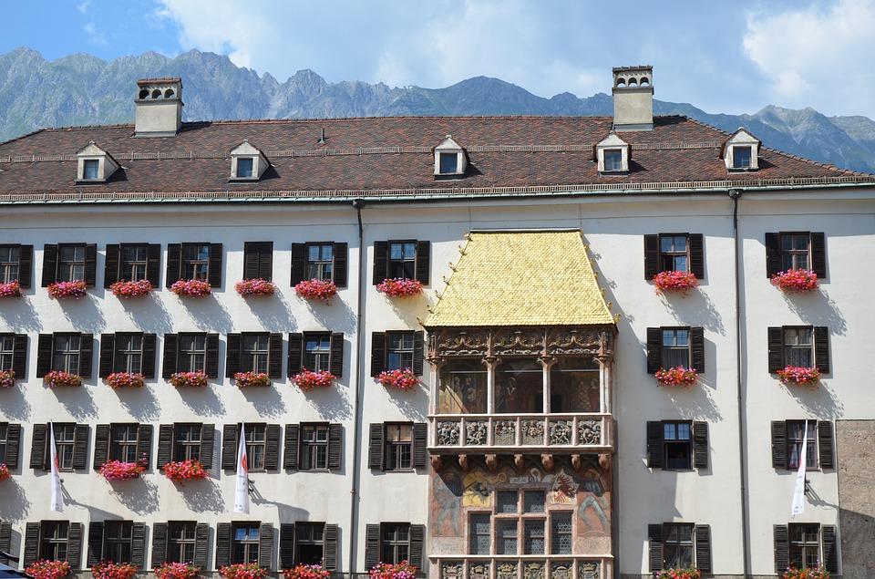 Золотой балкон в Инсбруке