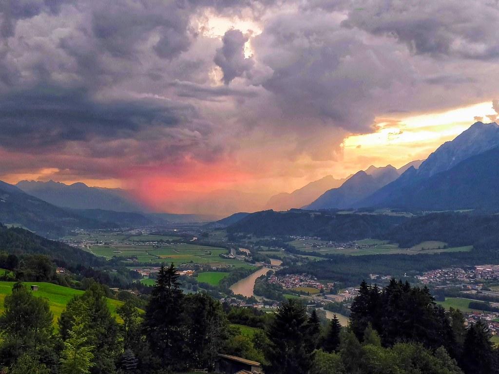 Пейзажи вокруг Инсбрука
