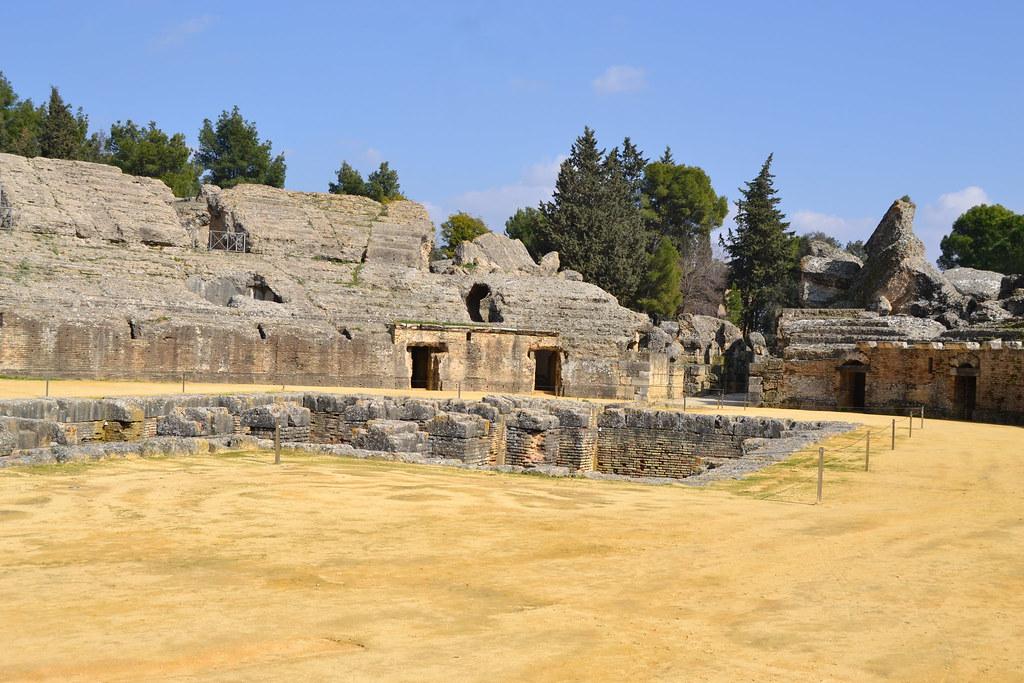 Руины римской Италики
