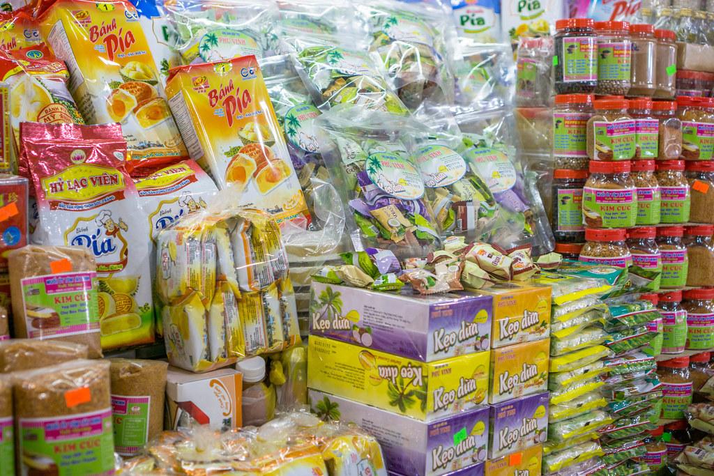 Ассортимент конфет во Вьетнаме
