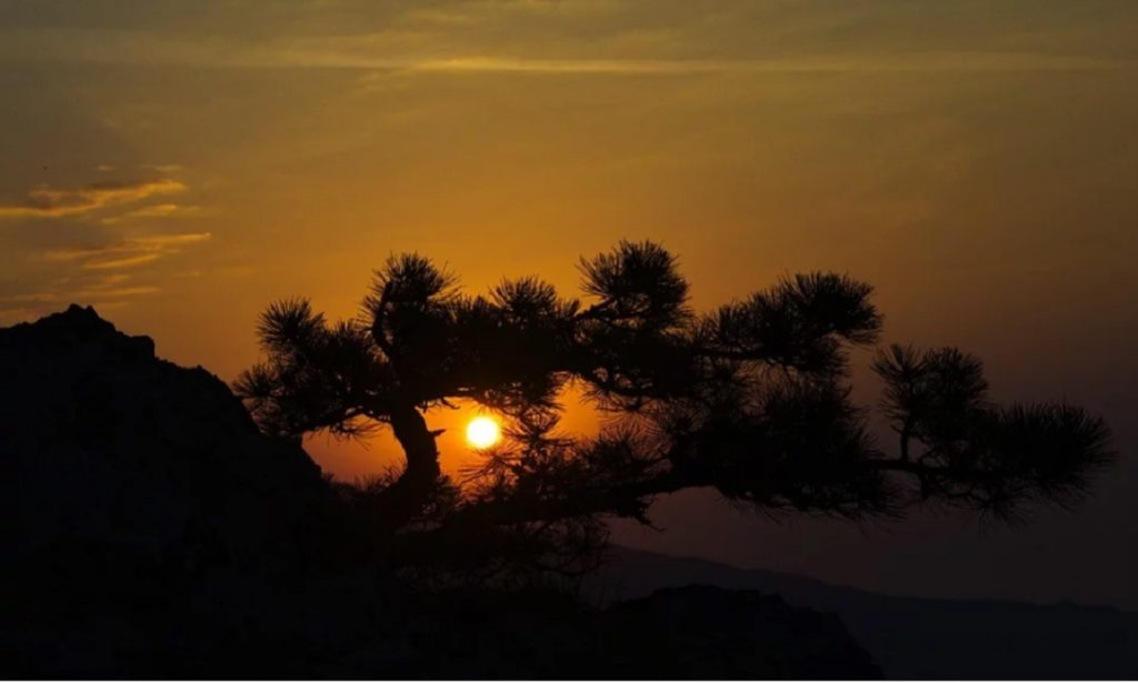 Закат на крымской тропе