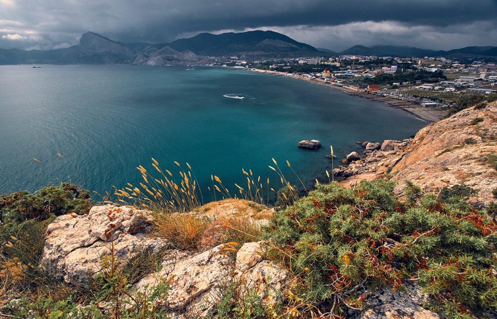 Крымский пейзаж около Судака